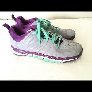 Adidas Derrick Rose Purple/Gray Baseball Shoes 9.5